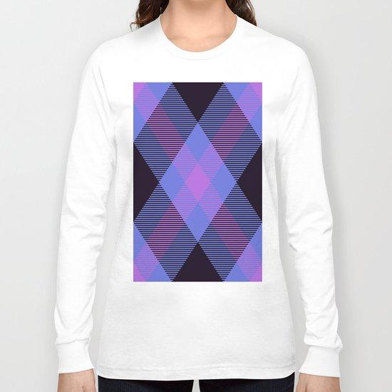 Tartan Pattern Long Sleeve T-shirt