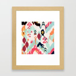 Bohemian Ethnic Painting Framed Art Print