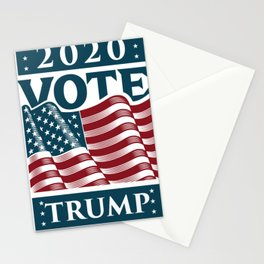 Trump 2020 Fuck Your Feelings Vote Stationery Cards