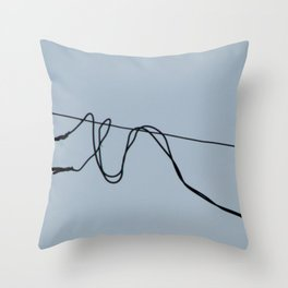 Fios e construção (2) Throw Pillow
