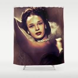 Dorothy Dandridge, Hollywood Legend Shower Curtain
