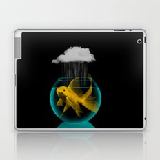 A tight spot in the rain Laptop & iPad Skin