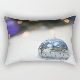 Boston Common Christmas Ornament Rectangular Pillow