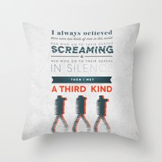 The Third Kind Throw Pillow