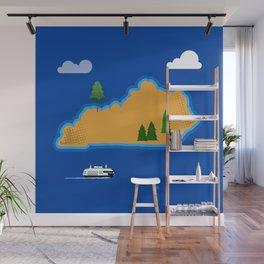 Kentucky Island Wall Mural