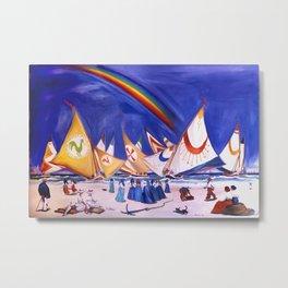 """""""Sails & Wind"""" Metal Print"""