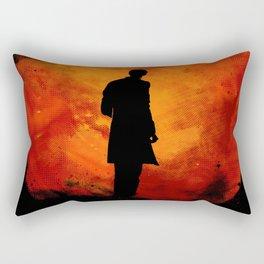 Rings of Akhaten - 11th Doctor Rectangular Pillow
