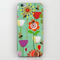 WHERE THE BEES FLY iPhone & iPod Skin