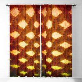 Trapez 1/5 Retro autumn by Brian Vegas Blackout Curtain