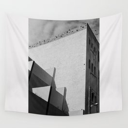 Urban Geometry Wall Tapestry