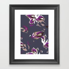 Pale Violette Framed Art Print