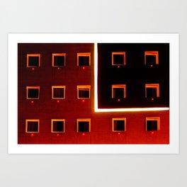 Luz y color - Hotel Art Print