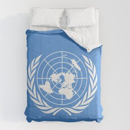 United Nations Flag Comforters
