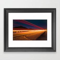 South of Phoenix Framed Art Print