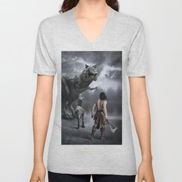 The Hunt Unisex V-Neck