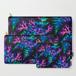 Coral Carnation - Dark blue/purple Carry-All Pouch