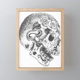 Sugarskull Framed Mini Art Print