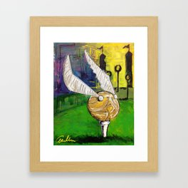 Snitch Tee Framed Art Print