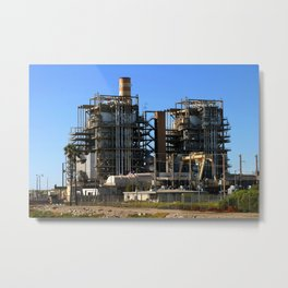 Natural Gas Power Plant Metal Print