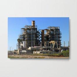 Natural Gas Power Plant Metal Print