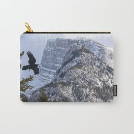 Mt Rundle & Raven (Canadian Rockies) Carry-All Pouch