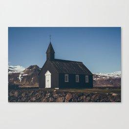 hellnar church Canvas Print