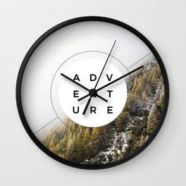 Adventure - Wanderlust Wall Clock
