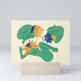 Bloomers Mini Art Print