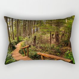 Cape Flattery Trail Rectangular Pillow