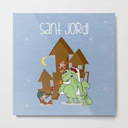 Sant_Jordi Metal Print