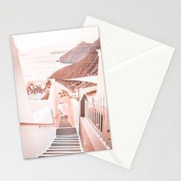 Santorini Greece Stationery Cards