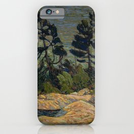Tom Thomson - Byng Inlet, Georgian Bay - Canada, Canadian Oil Painting - Group of Seven iPhone Case
