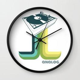 Analog 2 Wall Clock