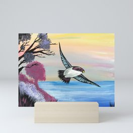 A Birds View Mini Art Print