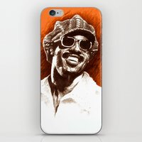 stevie nicks iPhone & iPod Skins featuring Stevie Wonder by ChrisGreavesCreative