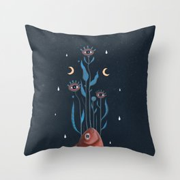Alchemyst's Fish Throw Pillow