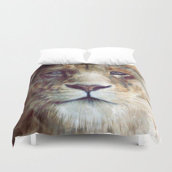 Lion // Majesty Duvet Cover