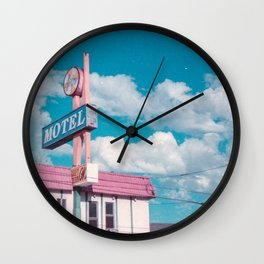 Astro Motel Wall Clock