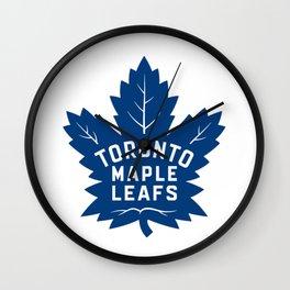 Toronto Maple Leaf Logo Wall Clock