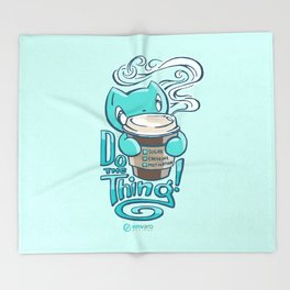 Scribbles: DO THE THING Throw Blanket
