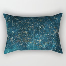 Under Constellations Rectangular Pillow
