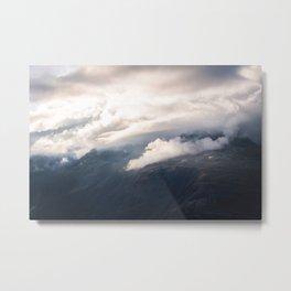 Sunlight over Zermatt Metal Print