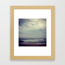 Where Heaven Meets Earth Framed Art Print
