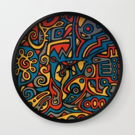 Butterfly Deception Wall Clock