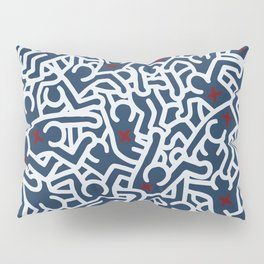 Keith Haring Variation #15 Pillow Sham