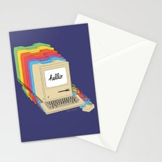 Macintosh Cascade Stationery Cards