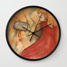 Thunder V2 Wall Clock