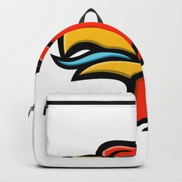Griffin Head Side Mascot Backpack