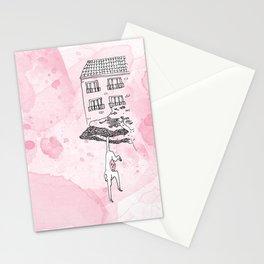 Le beau singe Stationery Cards