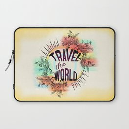 Travel the World Laptop Sleeve